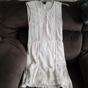 H&M White Lacy Dress.